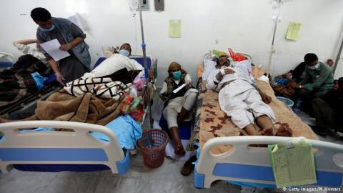 Cholera epidemic rages across war-torn Yemen