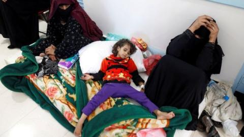 34 dead of suspected cholera as Yemen outbreak spreads